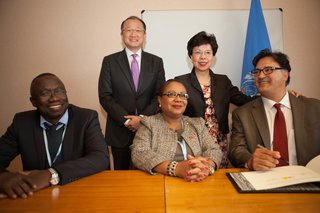 New Signatories to IHP+: Guinea Bissau, Haiti and USAID