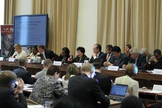 """Hold us to account"": IHP+ Technical Briefing at the World Health Assembly"
