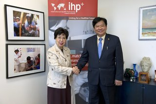 Myanmar the 34th country to sign the IHP+ Global Compact