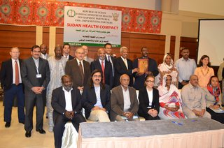 Sudan signs country compact