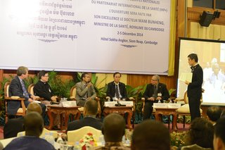 Report of 5th Country Health Teams Meeting, Siem Reap