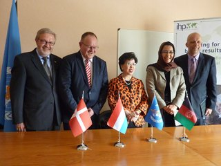 Three new signatories to the IHP+ Global Compact