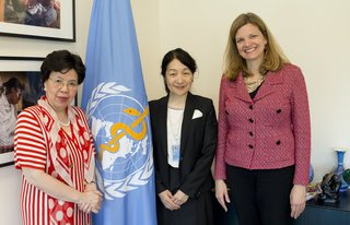 Japan signs IHP+ Global Compact